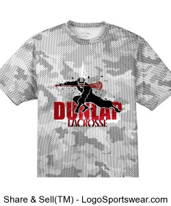 Lacrosse Ninja: Digital camo Design Zoom