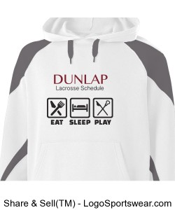 Eat SLeep Play Hoodie Design Zoom